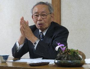 米寿を迎えられた田中久夫先生