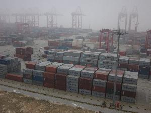 上海 洋山深水港